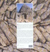 Gordes ; un rêve de pierre - 4ème de couverture - Format classique