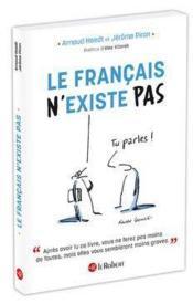 Le Français n'existe pas - Couverture - Format classique