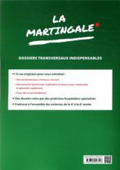 Dossiers transversaux indispensables - 4ème de couverture - Format classique