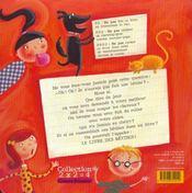 Le livre des betises - 4ème de couverture - Format classique