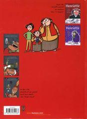 Le journal d'Henriette t.2 - 4ème de couverture - Format classique