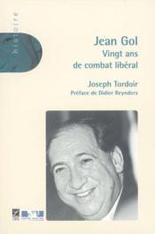 Jean Gol - Couverture - Format classique