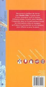 Venise ; 1e Edition - 4ème de couverture - Format classique