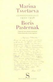Correspondances 1922-1936 - Intérieur - Format classique
