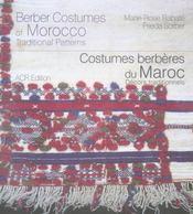 Costumes berbères du Maroc ; décors traditionnels - Intérieur - Format classique