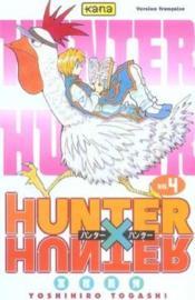 Hunter X Hunter T4 - Couverture - Format classique