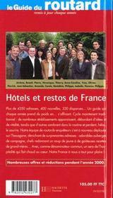 Guide Du Routard - 4ème de couverture - Format classique