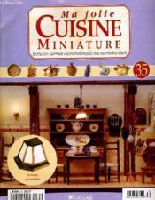Ma Jolie Cuisine Miniture N°35 - Couverture - Format classique