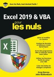 Excel 2019 & VBA - Couverture - Format classique