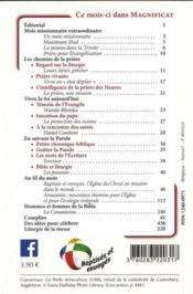 Magnificat N.323 - 4ème de couverture - Format classique