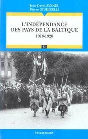 L' Independance Des Pays De La Baltique ( (1917-1920) - Intérieur - Format classique