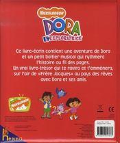 Dora l'exploratrice ; une histoire avant de dormir - 4ème de couverture - Format classique