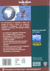 Madagascar ; 3e Edition - 4ème de couverture - Format classique