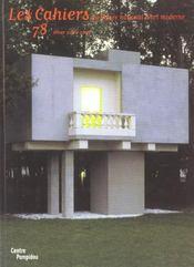 Cahiers Du Mnam N.78 ; Hiver 2001-2002 - Intérieur - Format classique