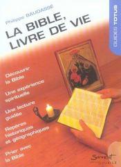 La bible, livre de vie - Intérieur - Format classique