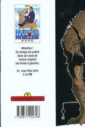 Hunter X Hunter T5 - 4ème de couverture - Format classique