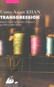 Transgression - Couverture - Format classique