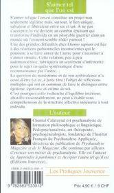 S'Aimer Tel Que L'On Est N.99 - 4ème de couverture - Format classique
