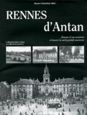 Rennes d'antan - Couverture - Format classique