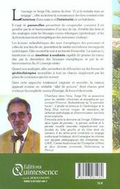 Bien Vivre Sa Maison - Geobiotherapie - 4ème de couverture - Format classique