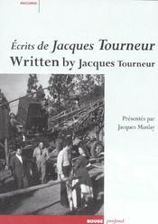 Ecrits de jacques tourneur avec dvd - Intérieur - Format classique