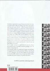 Ecrits De Jacques Tourneur Avec Dvd - 4ème de couverture - Format classique