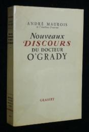 Nouveaux discours du docteur O'Grady - Couverture - Format classique