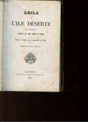 Leila - Ou L'Ile Deserte - Couverture - Format classique