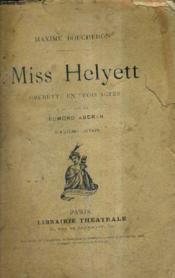 Miss Helyett - Operette En Trois Actes - Musique De Edmond Audran / 12e Edition. - Couverture - Format classique