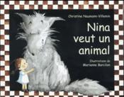 Nina veut un animal - Couverture - Format classique