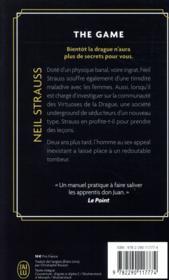 The game - 4ème de couverture - Format classique
