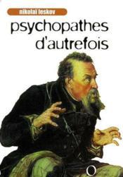 Psychopathes d'autrefois - Couverture - Format classique
