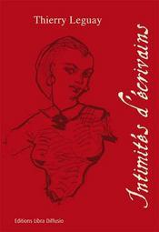 Intimités d'écrivains - Intérieur - Format classique