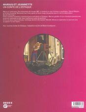 Un conte de l'estaque t3 - 4ème de couverture - Format classique