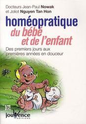 Homéopratique du bébé et de l'enfant (édition 2006) - Intérieur - Format classique