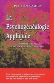 Psychogenealogie appliquee - Couverture - Format classique