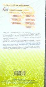 Hypertension Arterielle - Depliant Sante - 4ème de couverture - Format classique