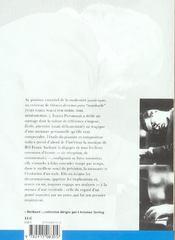 Bill Evans - Portrait De L'Artiste Au Piano - 4ème de couverture - Format classique