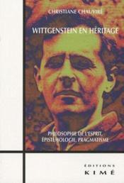 Wittgenstein en héritage - Couverture - Format classique