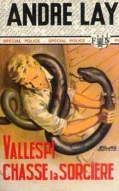 Vallespi chasse la sorcière - Couverture - Format classique
