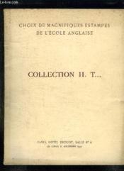 Catalogue De Ventes Aux Encheres D Estampes Anglaise Collection Ht Le Lundi 15 Decembre 1947 A L Hotel Drouot. - Couverture - Format classique