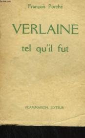 Verlaine Tel Qu'Il Fut. - Couverture - Format classique