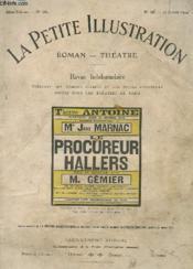 REVUE HEBDOMADAIRE LA PETITE ILLUSTRATION - ROMAN THEATRE - N° 46 - 17 JANVIER 1914 - Melle JANE MARNAC - LE PROCUREUR HALLERS - Couverture - Format classique