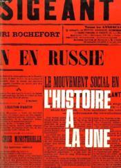 L'HISTOIRE A LA UNE. 1er JANVIER 1900-7 MAI 1945. - Couverture - Format classique