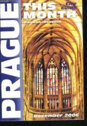 Prague. His Month. City Guide English / Deutsh - Couverture - Format classique