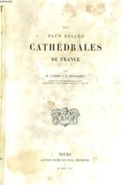 Les Plus Belles Cathedrales De France - Couverture - Format classique
