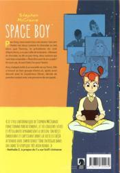 Space boy T.3 - 4ème de couverture - Format classique