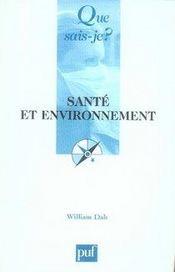 Santé et environnement - Intérieur - Format classique