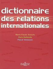 Dictionnaire des relations internationales - Couverture - Format classique