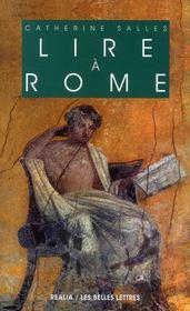 Lire à Rome - Intérieur - Format classique